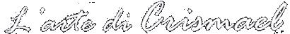 Arte Savona – L'arte di Crismael Logo