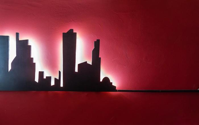 Arte Savona - Red Skyline
